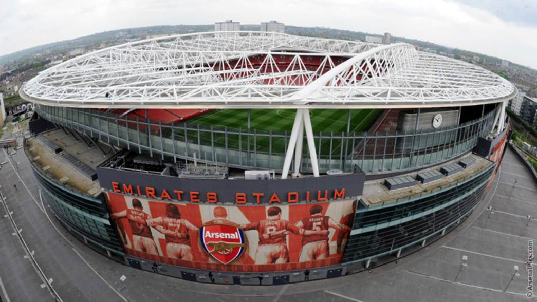 Image result for emirates stadium 2006